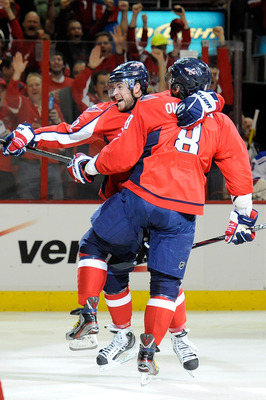 Washington Capitals defenseman Mike Green.