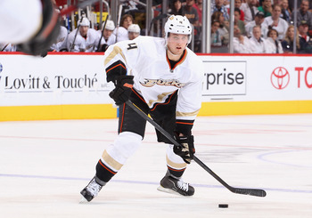 Anaheim Ducks defenseman Cam Fowler.