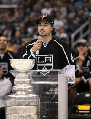 Los Angeles Kings defenseman Drew Doughty.