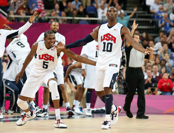After being a no-show in London, Kobe ignited vs. Australia.