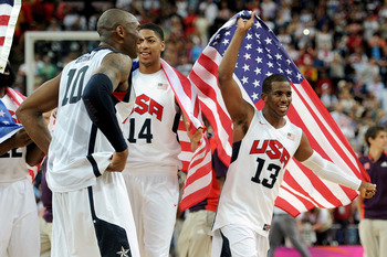 PG Chris Paul captained America's offense to gold.