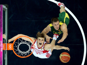 Kirilenko was a force to be reckoned with against Lithuania.