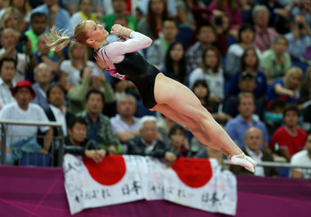 Sandra Izbasa proved that nobody is guaranteed an Olympic gold medal as she beat U.S. gymnast McKayla Maroney for the gold medal on vault.