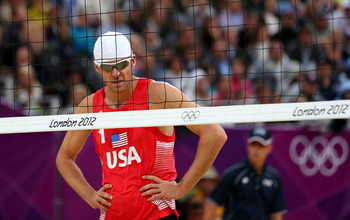 Both U.S. men's outdoor volleyball teams failed to make the semifinals.