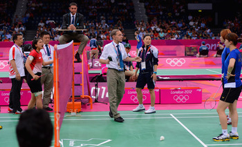Four badminton teams were disqualified from the Olympics for trying to throw pool-play matches.