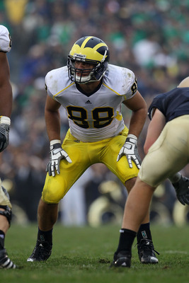 Michigan DT Craig Roh will anchor an inexperienced starting defensive front in 2012.