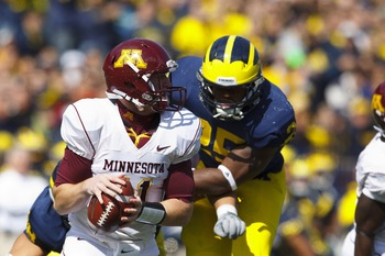 MLB Kenny Demens wreaked a bit of havoc in 2011. He is on my watch list for Michigan defensive player of the year in 2012