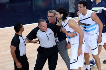 Though Scola was upset with the refs, he refused to use them as an excuse for the loss. Much to his credit.