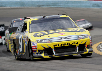 Marcos Ambrose won Sunday at Watkins Glen