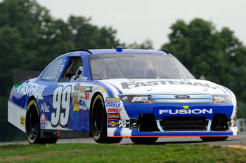 Carl Edwards finished 14th at Watkins Glen