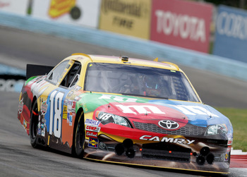 Kyle Busch finished seventh at Watkins Glen