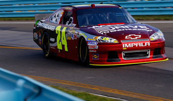 Jeff Gordon finished 21st at Watkins Glen