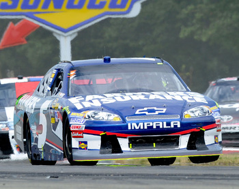Kasey Kahne finished 13th at Watkins Glen