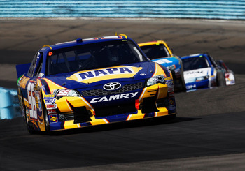 Martin Truex Jr. finished 10th at Watkins Glen