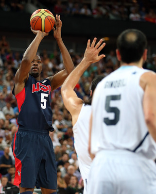 Durant's pure stroke was the second biggest reason--behind LeBron, of course--that the U.S. reasserted its dominance.
