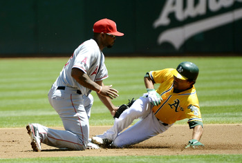 Coco Crisp earning his keep.