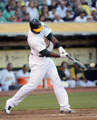 Chris Carter's power stroke has been more than a welcome addition in Oakland.