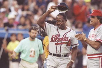 Henry &quot;Hank&quot; Aaron has played in more All-Star games than any player in Major League history.