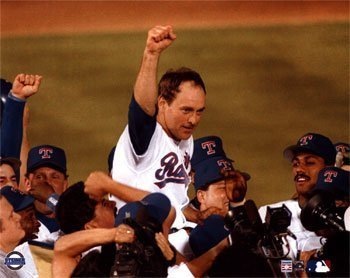 Nolan Ryan has many records that will stand for some time, but none greater than his career no-hitters record.  Photo courtesy of MLB.