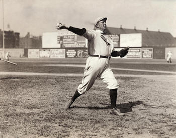 Cy Young is also responsible for the most complete games by a pitcher with 749.
