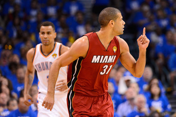 Battier and the Heat are most definitely No. 1.