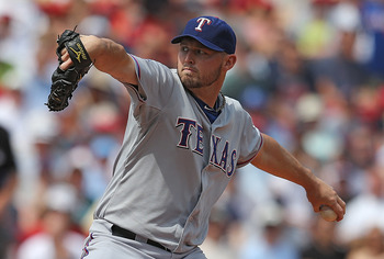 Matt Harrison is the Rangers best pitcher right now.
