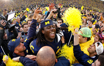Michigan QB Denard Robinson has already had much to celebrate. His list of accomplishments can reach new stature if he guides the Wolverines to a win vs. Alabama