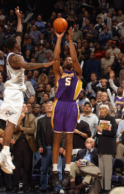 Horry didn't make many shots, but he made them when they mattered most.