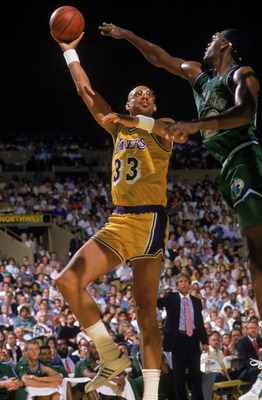 Abdul-Jabbar's Skyhook was the most lethal offensive weapon of all-time.