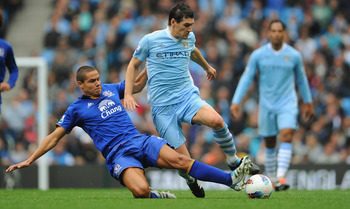 Jack Rodwell challenges new teammate, Gareth Barry