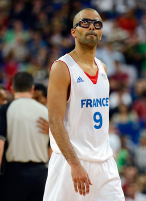 Even through the goggles, Tony Parker will be phenomenal.