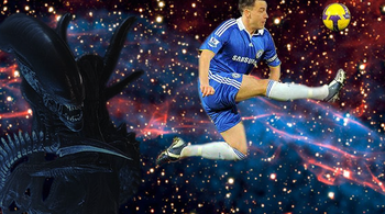 In space, no one can hear you scream at how boring European football is.