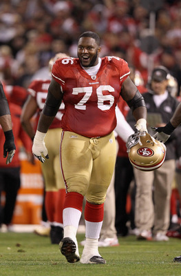 Right tackle Anthony Davis improved as the 2011 season progressed.