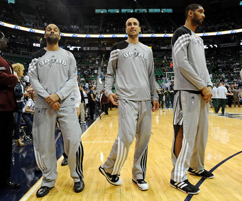 Tony Parker, Manu Ginobili and Tim Duncan can't shoulder the load on their own anymore.