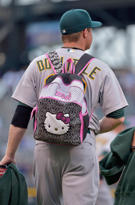 Pictured: Sean Doolittle during rookie hazing