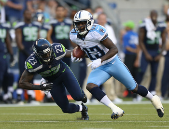 The Titans expect big things from their first-round pick Kendall Wright