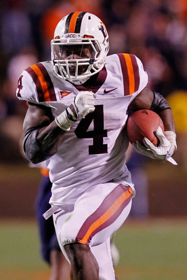 A dynamic player at Virginia Tech, David Wilson will try to bring his speed to the professional ranks