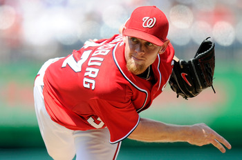 Stephen Strasburg might not appear in the post-season.