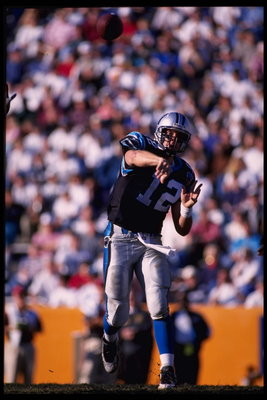 Kerry Collins led the Panthers to the 1996 NFC title game