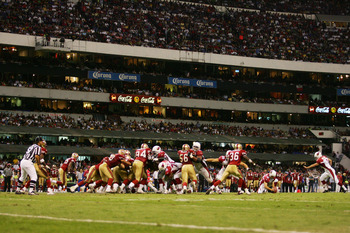 The 49ers and Cardinals play in Mexico in 2005