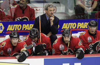 Sutter lead the 2004 Calgary Flames to Game 7 of the Finals.