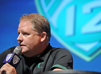 Oregon Head Coach Chip Kelly
