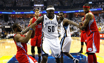 The Grizz will push their way into the second round of the postseason. But that's it.