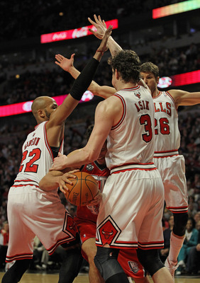 The Bulls will miss Ome Asik inside.