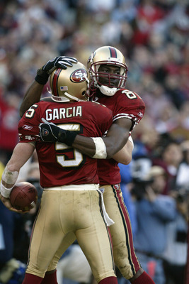 Jeff Garcia and Terrell Owens