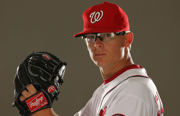 Tyler Clippard. What is it with closers and those funny glasses?
