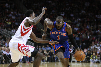 Stoudemire has progressed already, just by working with Hakeem Olajuwon.