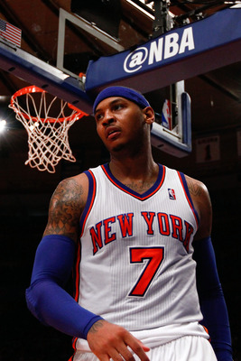 Carmelo looks to leave his imprint on New York during the upcoming season.