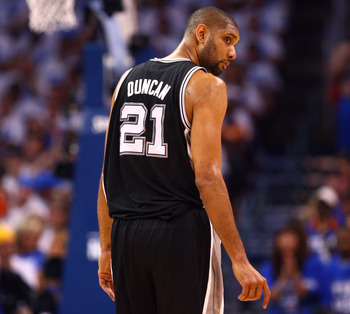 Tim Duncan has an Eeyore quality about him.