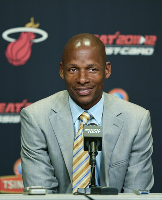 Ray Allen is going to disappear in LeBron's sizable shadow.